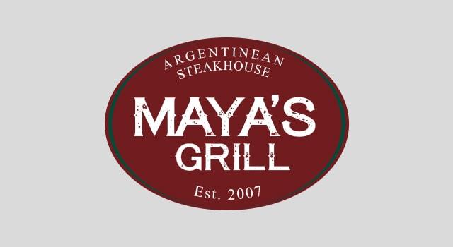 DM Agency - Branding -Maya's Grill Logo