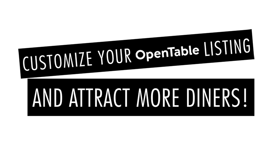 Customize Opentable