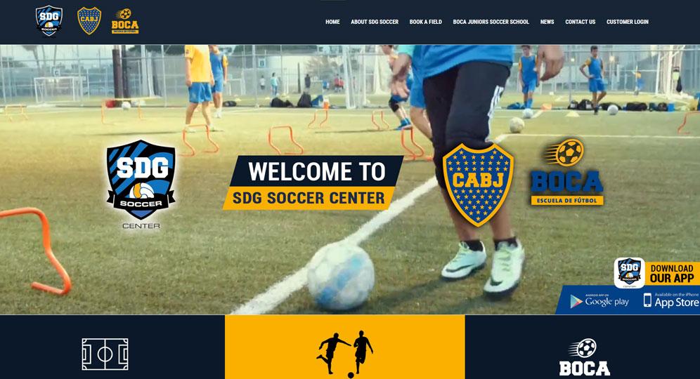SDG Soccer - Boca Juniors Soccer School