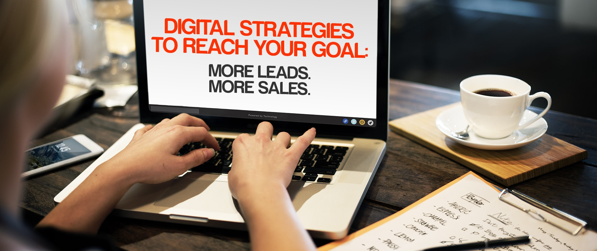 DM Agency - Digital Strategies to Reach Your Goal: More Leads. More Sales.